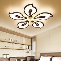 Đèn ốp trần LED phòng khách 5 cánh ,  có 3 chế độ sáng hiện đại LUCAXI
