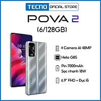 Tecno Pova 2 6GB l 128GB - Điện Thoại Thông Minh Chiến Game Cực Đỉnh - Hàng Chính Hãng
