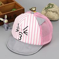 Mũ kẻ mặt mèo MZ4257 FRIENDS kẻ mặt mèo cho bé