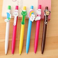 Bút bi hình thú nhiều màu dễ thương – 6 mẫu
