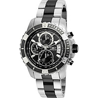Invicta Men's Pro Diver Quartz Watch with Stainless-Steel Strap, Two Tone, 22 (Model: 22416)