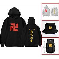Áo Hoodie Tokyo Revengers, mũ Tokyo Revengers, balo  Anime, cặp