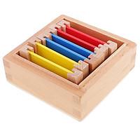 Montessori Sensorial Vật Liệu Học Màu Hộp đồ Chơi Giáo Dục Trẻ Em