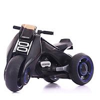 Xe điện 3 bánh cho bé kiểu dáng mô tô DQ-6188 có đèn và nhạc bắt mắt