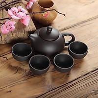 Bộ ấm chén gốm sứ tử sa tinh hoa trà đạo