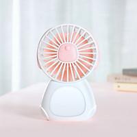 Quạt mini tích điện đáng yêu sạc điện nhanh kiêm đèn ngủ thông minh Jisulife F3 – Quạt điện nhỏ để bàn hoạt động yên tĩnh liên tục 24 giờ không gây ồn - Hàng chính hãng