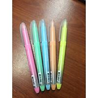 Vỉ 5 bút dạ quang màu dịu nhẹ DHL 110
