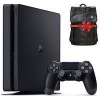 Máy Playstation PS4 Slim 1TB CUH-2218B + Quà tặng Balo PS4 cực chất - Hàng chính hãng