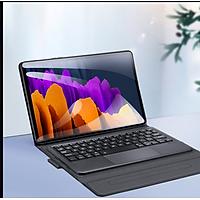 Bao da danh cho Samsung Galaxy Tab A7 2020 T500/T505 kèm bàn phím bluetooth có bàn di chuột TouchPad hiệu Dux Ducis - Hàng Chính Hãng