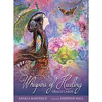 Bộ Tarot Whispers of Healing Oracle Cards Bài Bói New