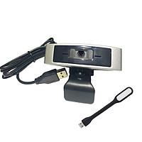Webcam Dùng Cho Máy Tính, Laptop CM330G Kèm Đèn LED USB
