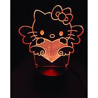 Đèn trang trí Kitty 16 màu  - Quà tặng đáng yêu LL07