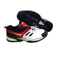 Giày Tennis Nam Nữ CP036  Trắng Đen Đỏ