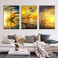 Bộ tranh treo tường phong thủy trang trí nội thất đẹp và giá gốc tại xưởng mới nhất thị trường ĐL 19