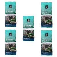 Combo 5 Gói Rong Biển Khô Daesang Hàn Quốc (25 Gram/Gói)