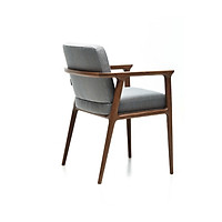 Ghế ăn Zio (Zio dinning chair) khung gỗ sồi có nệm - 2 màu tự chọn