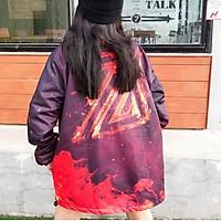 Áo khoác dù Loang màu Z dành cho nam nữ có 3 màu, jacket form rộng vãi mero unisex ulzzang