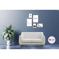 Sofa Văng Phòng Khách Màu Kem 1m2 Giá Rẻ Kiểu Dáng Hiện Đại