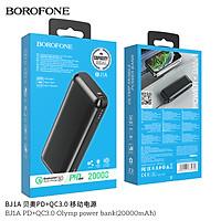 Pin sạc dự phòng Borofone BJ1A sạc nhanh  PD+QC3.0 Olymp 20000mAh- Hàng nhập khẩu