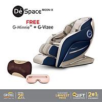 Ghế Massage Gintell DéSpace MOON-X [Tặng ngay] Máy Massage Mắt G-VIZEE + Đệm Massage G-Minnie EZ