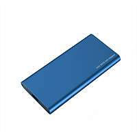 Type-C to mSATA SSD Enclosure Portable mSATA Solid State Drive Box High Speed USB3.1 mSATA   SSD Enclosure Blue