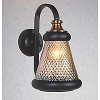 Đèn gắn tương trang trí kiểu công nghiệp hiện đại chụp thủy tinh NV5106