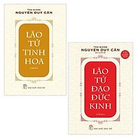 Combo Lão Tử Tinh Hoa và Lão Tử Đạo Đức Kinh ( Tái bản 2021)