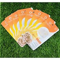 Mặt Nạ Bùn Khoáng Yến Sào KOREANA CAO CẤP dưỡng ẩm, dưỡng trắng da (Hộp 10 gói)