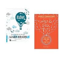 Combo 2 cuốn sách: Buông Bỏ Buồn Buông + Tại Sao Tình Dục Lại Thú Vị? (Bìa Cam)