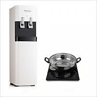 Máy lọc nước tích hợp nóng lạnh KoriHome WPK-818-S - Hàng chính hãng. Tặng bếp từ korihome ICK 226