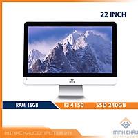 Bộ PC để bàn All in ONE (AIO) MCC4182 Home Office Computer CPU i3 4150/ Ram8G/ SSD240G/ Wifi/ Camera/ 22inch[Chính hãng]