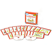 Scholastic Decodable Readers : Box Set Level D (Include 20 Books with CD)