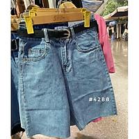 Quần jeans ngố xanh. Size S M L