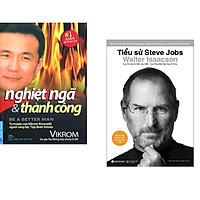 Combo 2 cuốn sách: Nghiệt Ngã & Thành Công + Tiểu Sử Steve Jobs