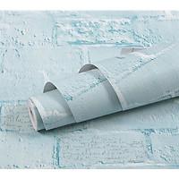 Decal Giấy dán tường họa tiết 3D cao cấp có keo sẵn - Cuộn 10mx45cm - Hàng Chính Hãng