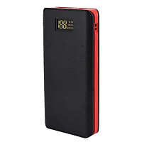 Battery Charger Power Bank Box Portable Dual USB Output Travel Supplies Charging