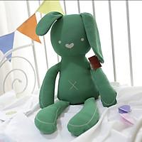 Gấu bông Thỏ tai dài 50cm màu xanh lá