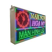 Biển quảng cáo màn hình LED thông minh HIKARU Full màu, 2 mặt hiển thị, KT cao 520 x rộng 1000