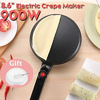 Electric Crepe Maker Pizza Pancake Machine Household Non-Stick Griddle Baking Pan Cake Machine Kitchen Cooking Tools 900W