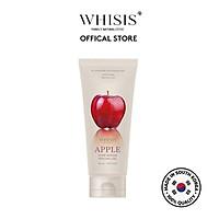 Gel tẩy da chết thu nhỏ lỗ chân lông chiết xuất táo đỏ lên men WHISIS Apple Pore Refine Peeling Gel dung tích 120ml