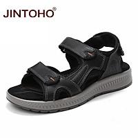 Giày Sandal Da Đi Biển Thời Trang Cho Nam Size 38-48