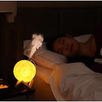 MÁy phun sương kèm đèn ngủ Mặt trăng - GDMOON