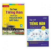 Combo Sách Học Tiếng Hàn: Tự Học Tiếng Hàn Dành Cho Người Mới Bắt Đầu + Tập Viết Tiếng Hàn Dành Cho Người Mới Bắt Đầu (Học Kèm App MCBooks) (Tặng Audio Luyện Nghe) (Quà Tặng: Bút Animal Cực Xinh)
