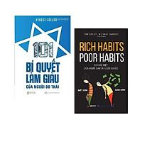 Combo sách: 101 Bí Quyết Làm Giàu Của Người Do Thái + Rich Habits - Poor Habits Sự khác biệt giữa người giàu và người nghèo