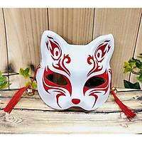 Mặt nạ cáo đỏ trắng, hóa trang Cosplay Nhật Bản