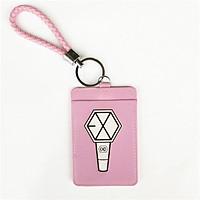 Móc đeo thẻ tên bảng tên logo Lightstick EXO