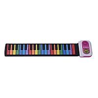 Bàn Phím Piano Điện Tử 37 Phím Silicon Nhiều Màu Có Loa Ngoài Cho Trẻ Em