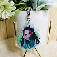 Móc khóa mica trong Arknights Ma đạo tổ sư dạng tròn quà tặng xinh xắn dễ thương chibi anime tặng thẻ Vcone