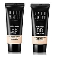 Bộ 2 tuýp kem trang điểm đa năng 5in1 Dabo Make Up BB SPF47 PA+++ Hàn Quốc (50ml)
