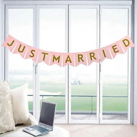 Dây treo Banner Just Married